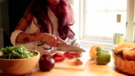 Chopping Vegetables 1 video