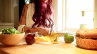 Chopping Vegetables 4 video