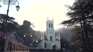 Christ Church in Simla, the second oldest church in North India, Himachal Pradesh, India video