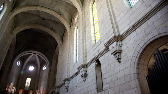 Christian monastery vault video