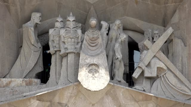 Christian Sculpture Of Kings Knights And Jesus video