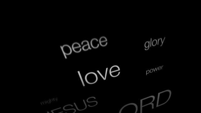 Christian Words of Faith video