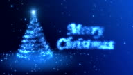 Christmas Background Blue video