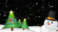 Christmas Background HD Black video