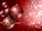 Christmas Background. Red, Silver. Loopable. PAL. (HD, NTSC also available) video
