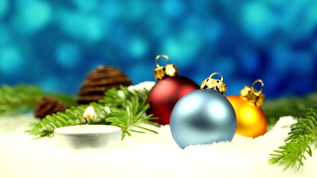 Christmas ball decoration video
