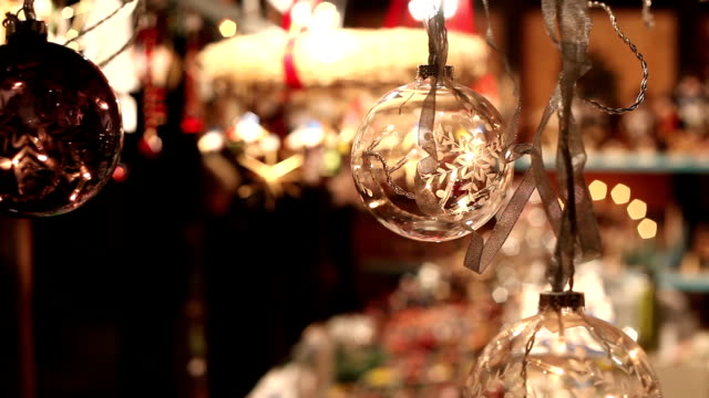 Christmas Baubles video