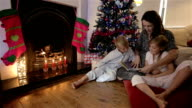 Christmas bedtime story video