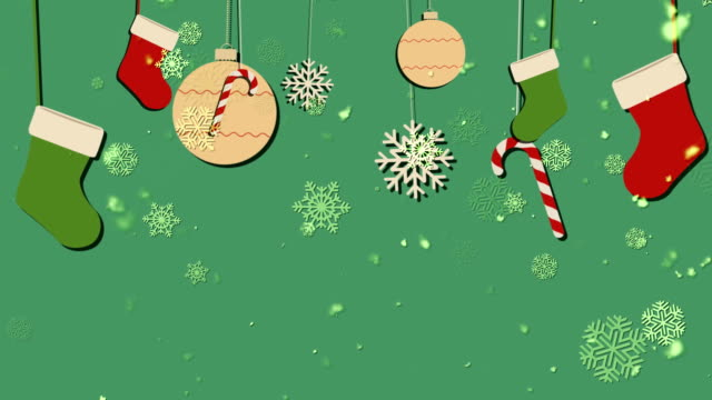 Christmas Bg 1 Loopable Background video
