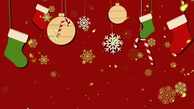 Christmas Bg 2 Loopable Background video