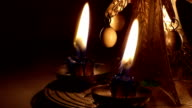 Christmas candle chimes video