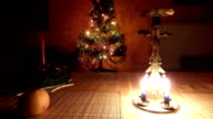 Christmas candle tree chimes video