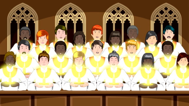 Christmas Choir video