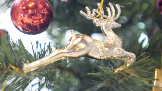 Christmas Decorations close up video