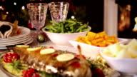 Christmas Dinner video