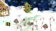 Christmas Eve -  a mixed media animation. video