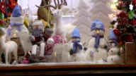 Christmas Gift Shop Window Display video