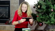Christmas gift surprise video