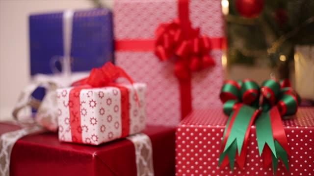 Christmas gifts box presen video