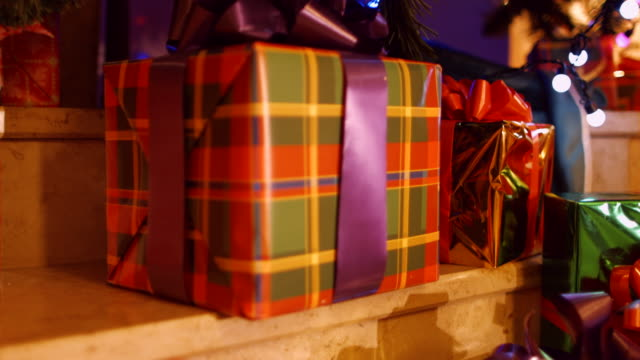 Christmas gifts under the tree video
