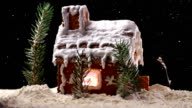 Christmas Gingerbread House video