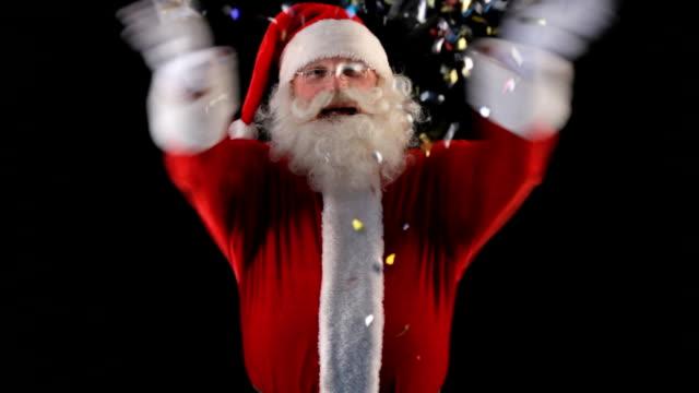 Christmas glitter video