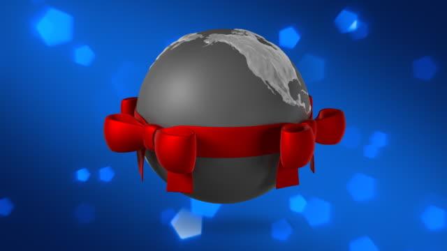 Christmas Globe Blue video