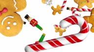Christmas Happy Holidays Animation video