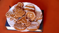 Christmas homemade gingerbread cookies video
