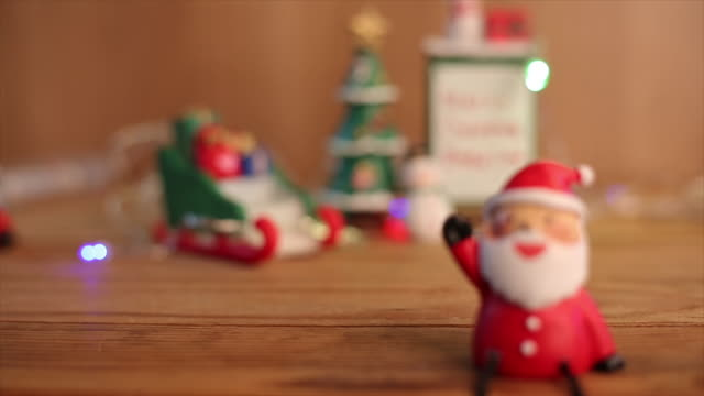 Christmas item for decoration video