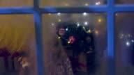 Christmas Kids in Pyjamas with Presents video