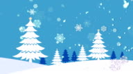 Christmas Landscape 2 Loopable Background video