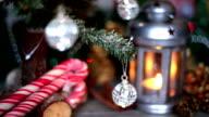 Christmas lantern video