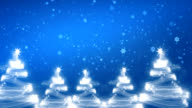 Christmas light show, winter season. video