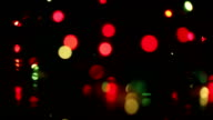 Christmas Lights. Blurs Bokeh video