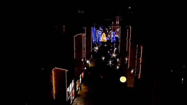 AERIAL: Christmas Lights video