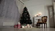 Christmas living room video