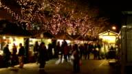 Christmas Market Timelapse video