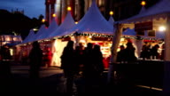 Christmas market video
