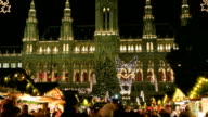 Christmas Market Vienna - Time Lapse video