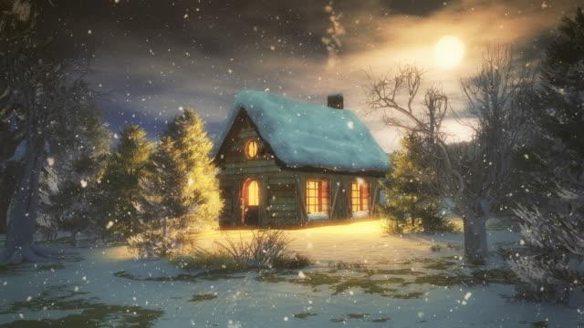 Christmas Night - 4K   Loopable video