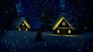 Christmas Night   Loopable video