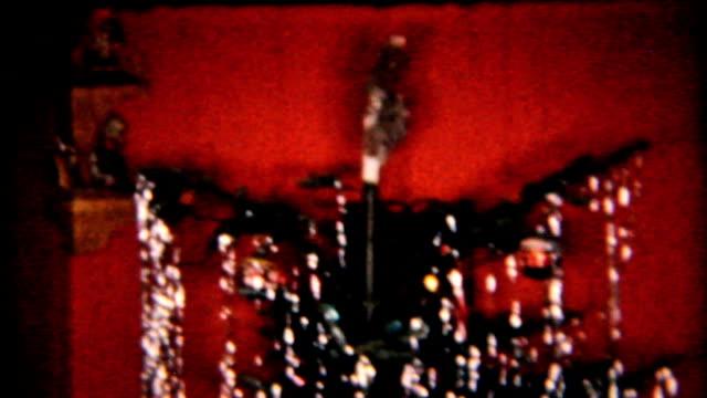 Christmas Presents Under Tree-1958 Vintage 8mm film video