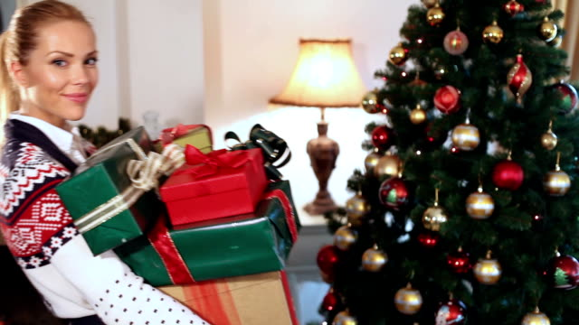 Christmas presents video