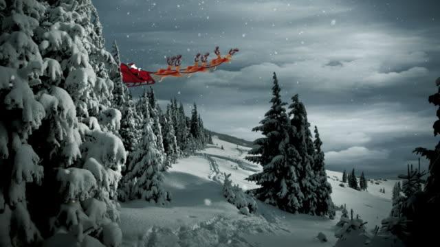 Christmas Santa Claus Scene video