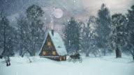 4K Christmas Scene   Loopable video
