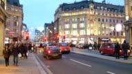 4K Christmas & Shopping on Oxford street, London video