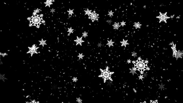 Christmas Snow Fall 1 Loopable Background video