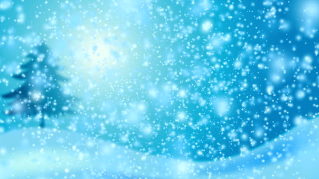 Christmas Snow fall video