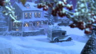 Christmas Snow Scene - Country Inn video